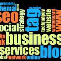 Blog word cloud